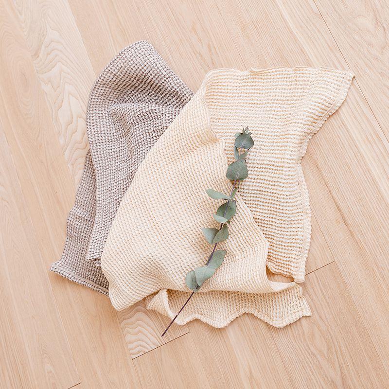木からできたタオル
