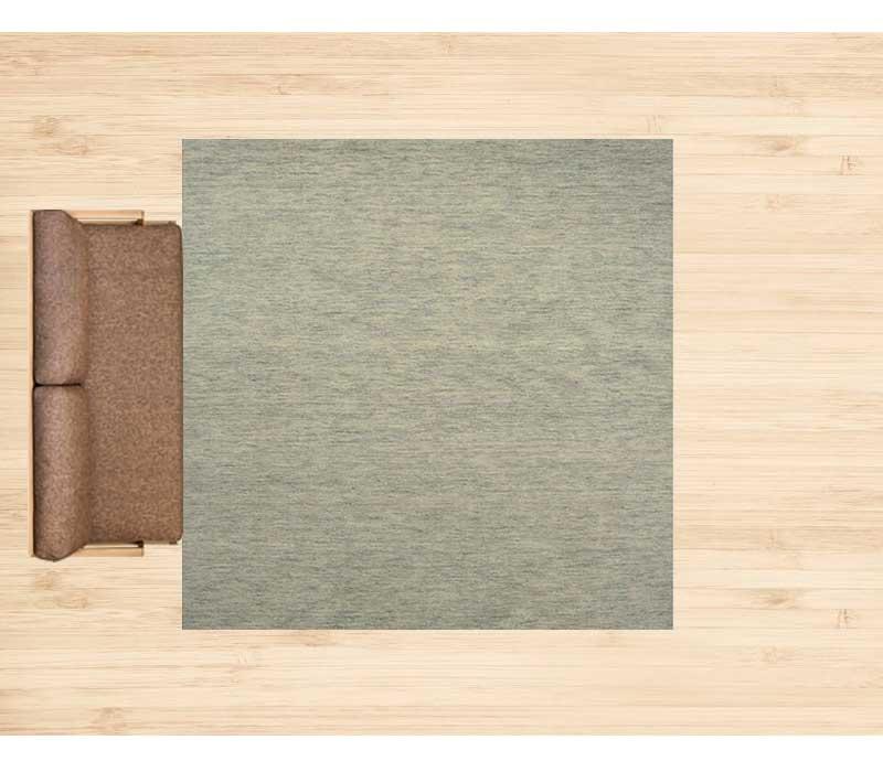 10畳に250×250cmのラグ 配置イメージ