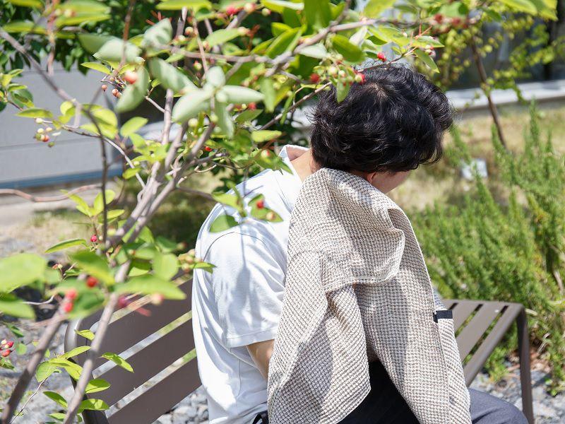 木でできたタオル 暑い日にもおすすめ