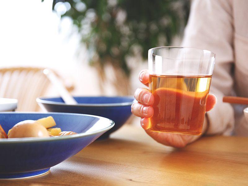 うすはり、飲み物を美味しくするグラス