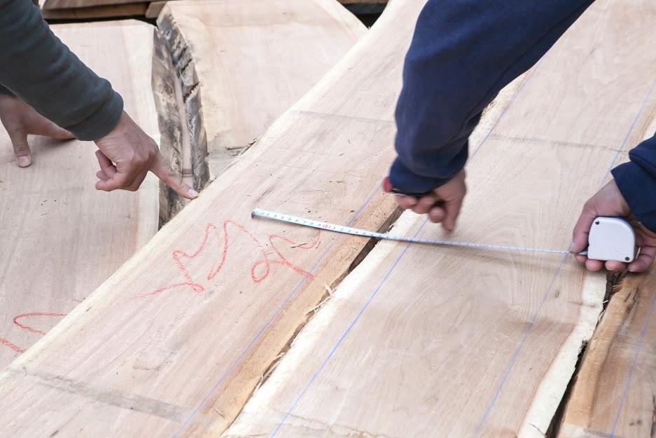 木取り 飛騨の国産材