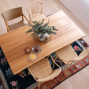 国産材ダイニングテーブル