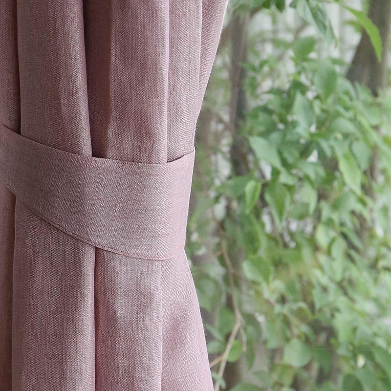 リネンドレープカーテン