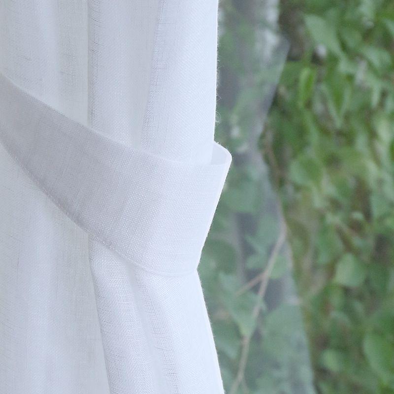 リネンレースカーテン