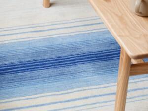 オリジナルラグ 水平線(ブルー) ER6177B イメージ