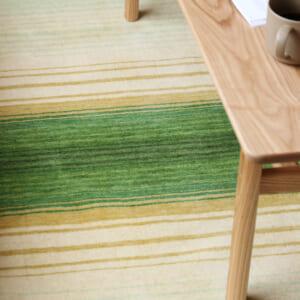 オリジナルラグ 新緑の森(グリーン) ER6177G イメージ