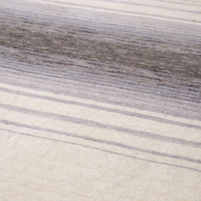 オリジナルラグ 雪原(グレー) ER6177W 表面の様子