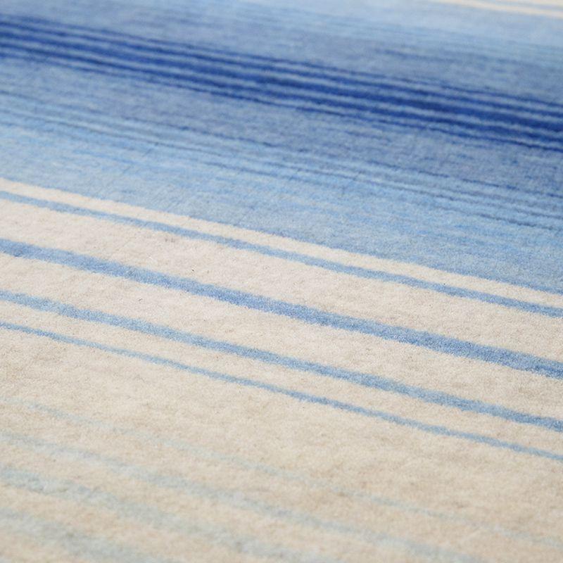 オリジナルラグ 水平線(ブルー) ER6177B 表面イメージ