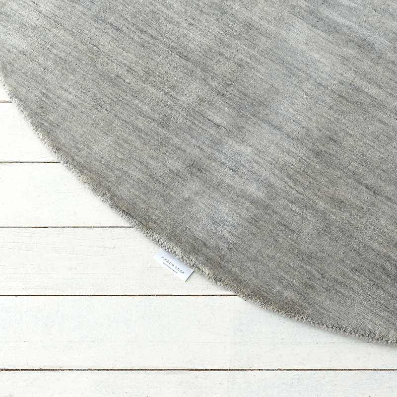 ハグみじゅうたん® てざわり無地シリーズ ライトグレー ER7004