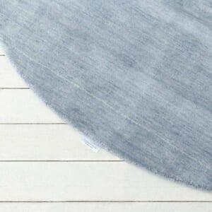 ハグみじゅうたん® てざわり無地シリーズ シルクブルー ER7007