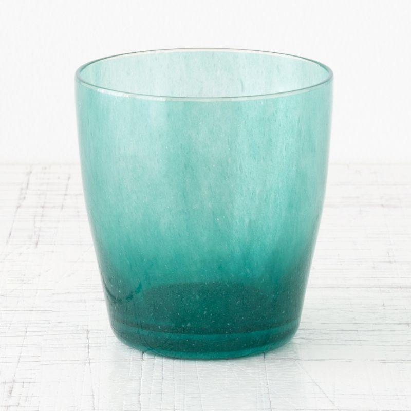 カラフルなグラス new blue