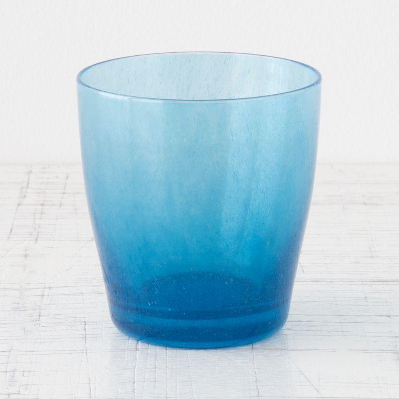 カラフルなグラス aquamarine blue