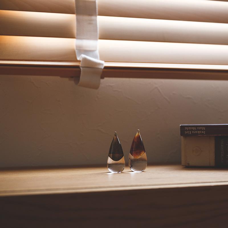 小さなガラスのオブジェ