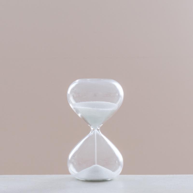 砂時計 ホワイト