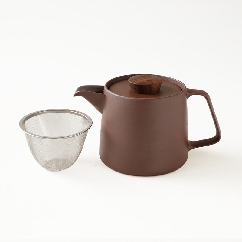 常茶飯器 煎じポット(茶こしつき)