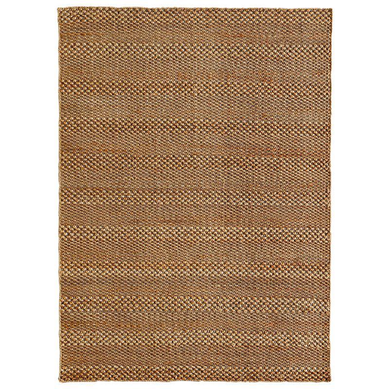 ハグみじゅうたん 手機織りの様子