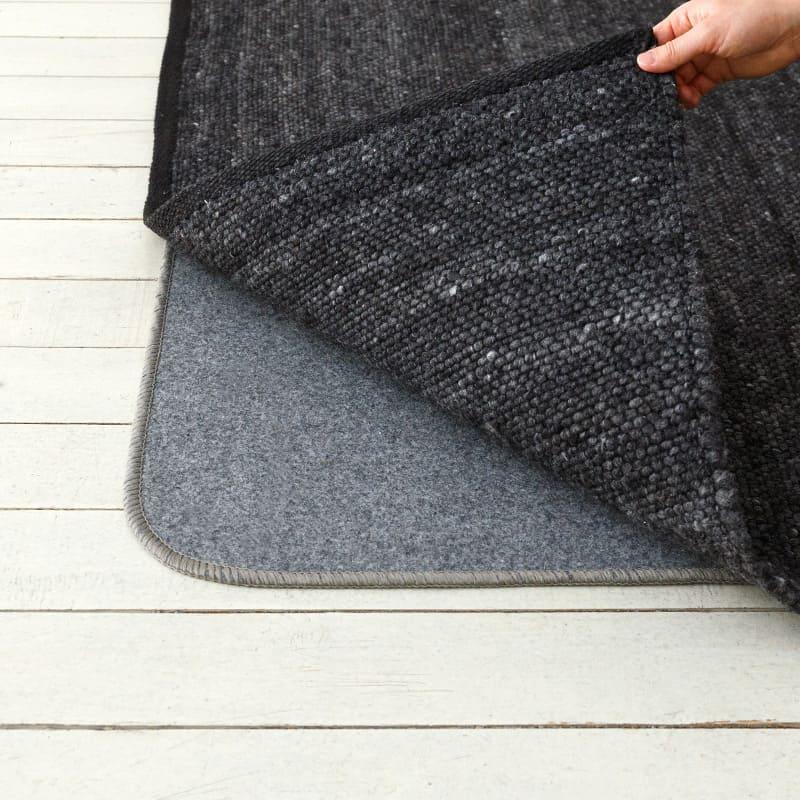 オリジナルラグ ブレンドR ブラック J2317BK 床暖・ホットカーペット対応