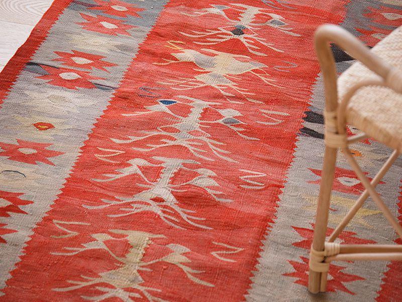 ヴィンテージラグ シャルキョイキリム OK1-TII370 イメージ