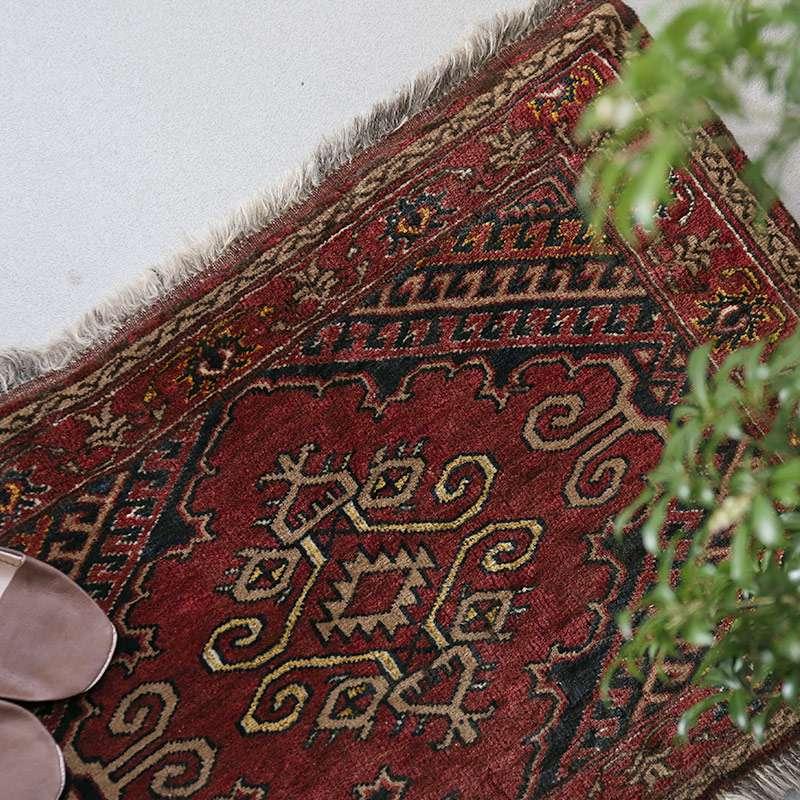 ヴィンテージラグ トルクメン / アフガニスタン / 1970年代 / 81cm x 51cm / OR1-2012001 イメージ