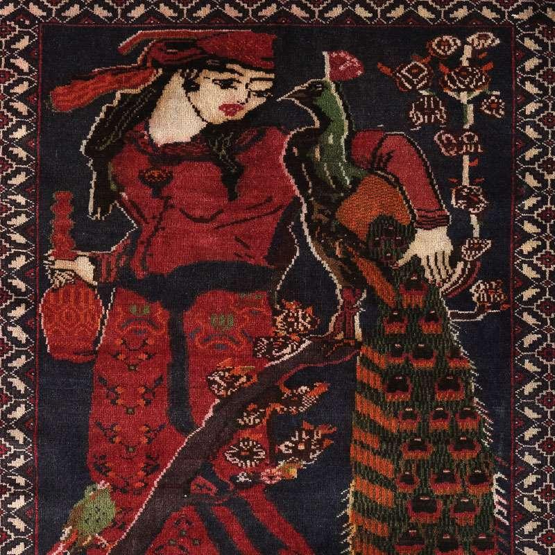 トライバルラグ リラ(アラビア人の女性) OR105-2105032 デザイン