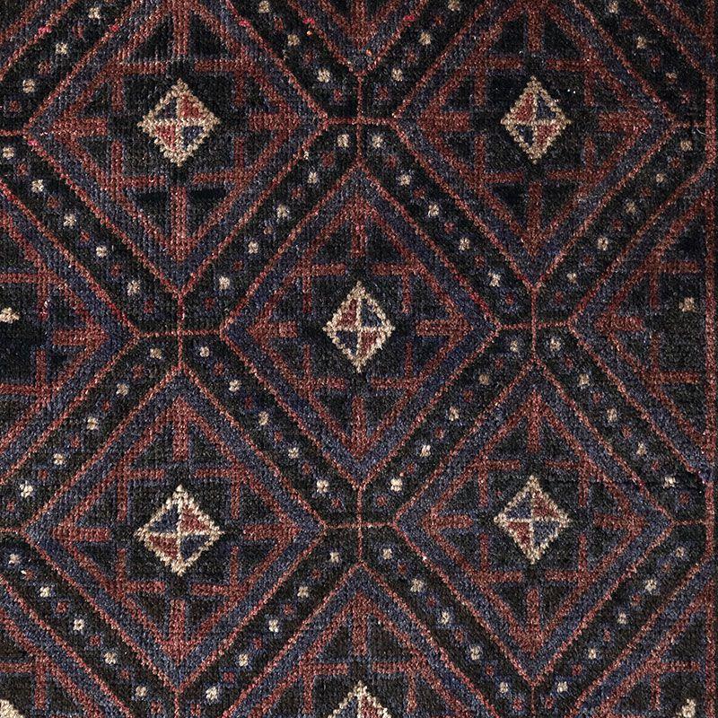 ヴィンテージラグ バルーチ / アフガニスタン / 1970年代 / 84cm x 143cm / OR12-2012012 デザイン