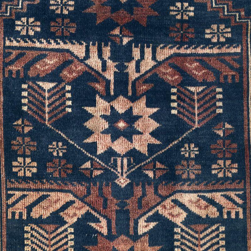 ヴィンテージラグ バルーチ / アフガニスタン / 1970年代 / 85cm×130cm / OR17-2012017 デザイン