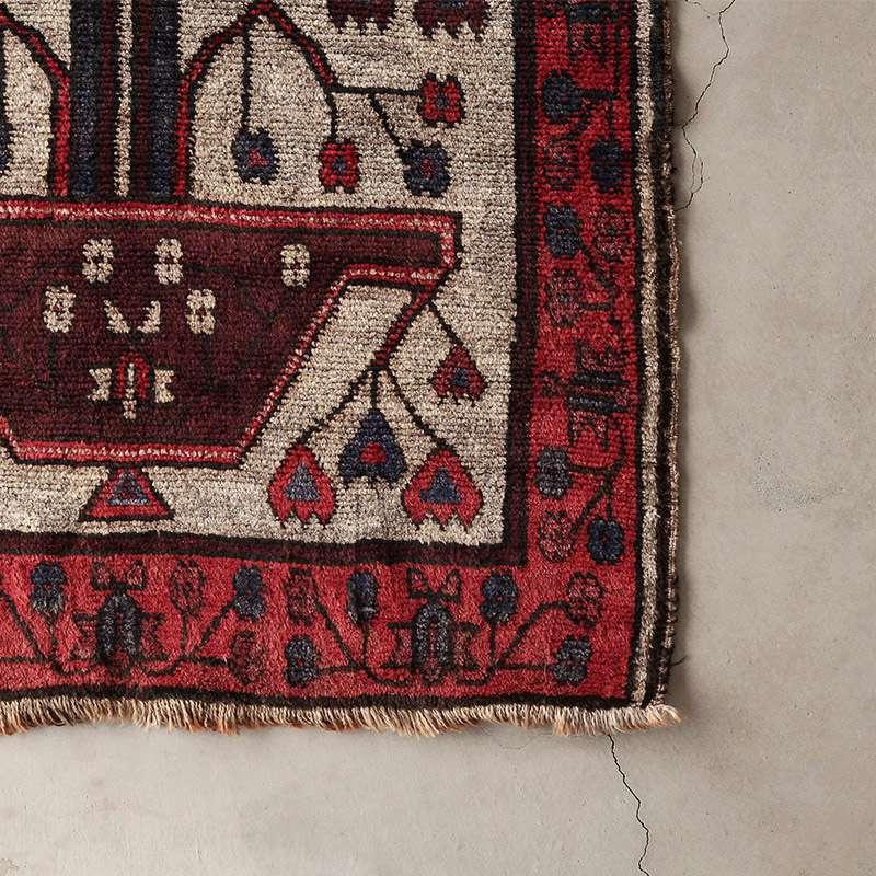 ヴィンテージラグ ノマド / アフガニスタン / 1960年代 / 97cm×149cm / OR18-2012018 角
