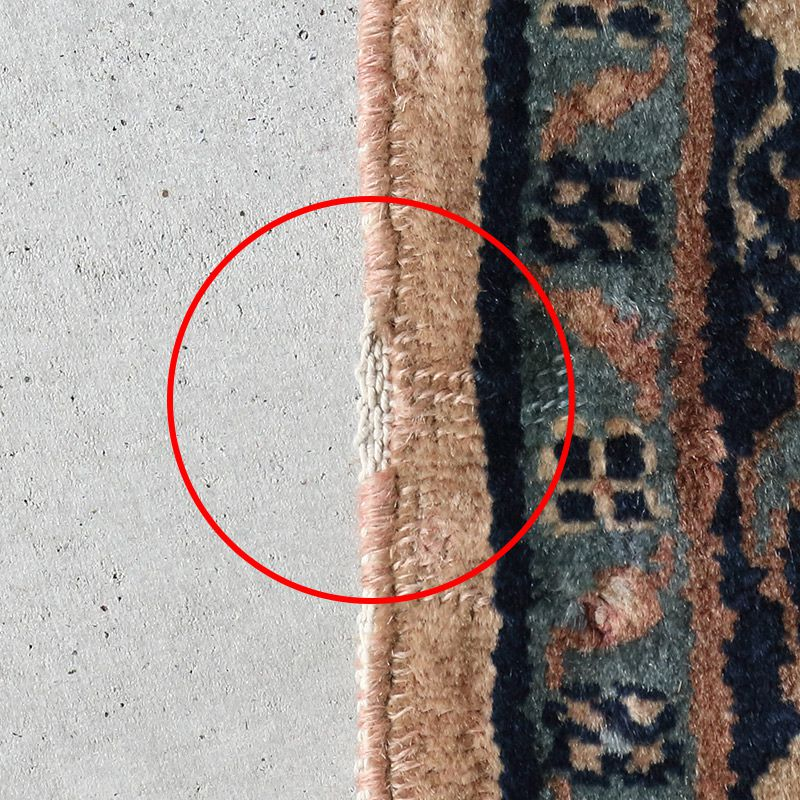 トライバルラグ パンジャーブ (シェーフープラ) OR20-2012020 かがり擦り切れ
