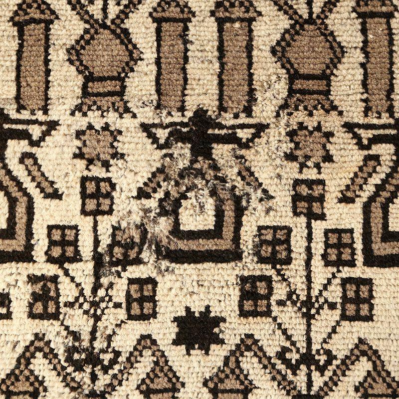 ヴィンテージラグ ノマド / アフガニスタン / 1970年代 / 94cm×157cm / OR25-2012025 補修跡