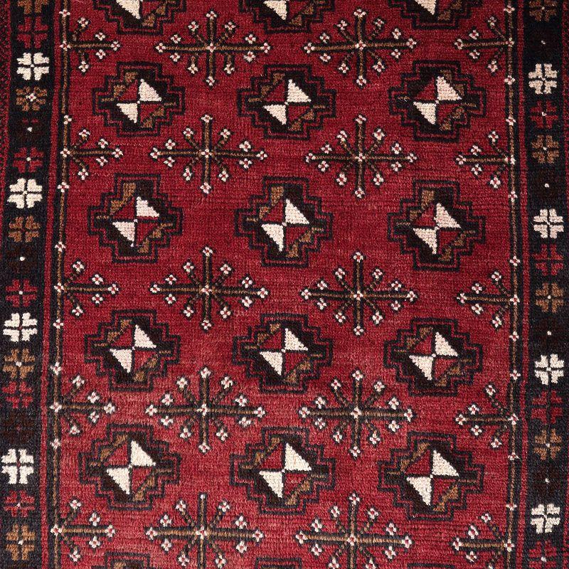 ヴィンテージラグ ヤムート / アフガニスタン / 1970年代 / 83cm x 140cm / OR37-2012037 デザイン