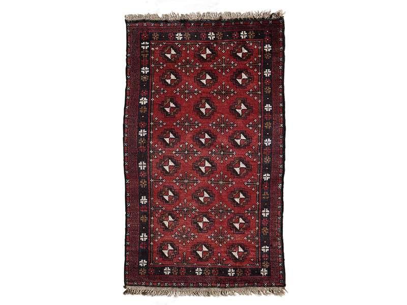 ヴィンテージラグ ヤムート / アフガニスタン / 1970年代 / 83cm x 140cm / OR37-2012037
