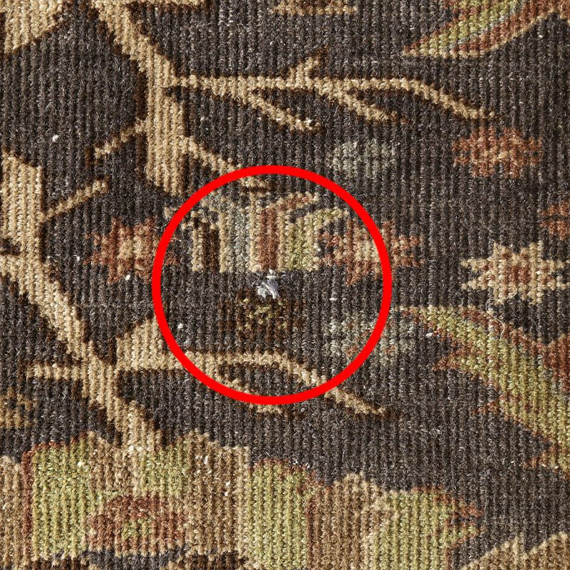 ヴィンテージラグ バルーチ / アフガニスタン / 1960年代 / 114 cm x 178cm / OR4-2012004 糸の飛び出し