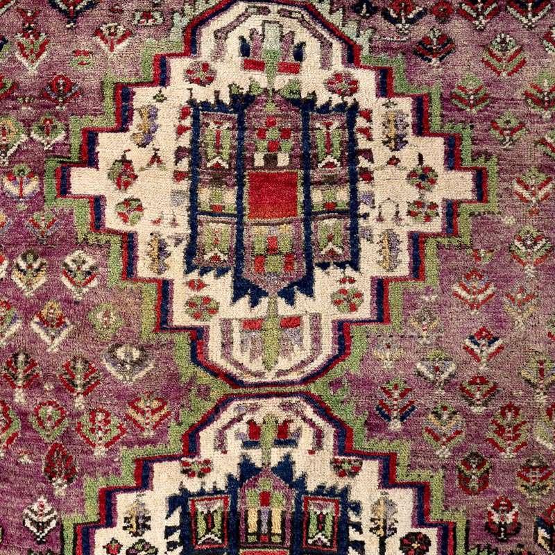 ヴィンテージラグ アフシャール / イラン / 1990年代 / 117cm x 125cm / OR46-3012007 デザイン