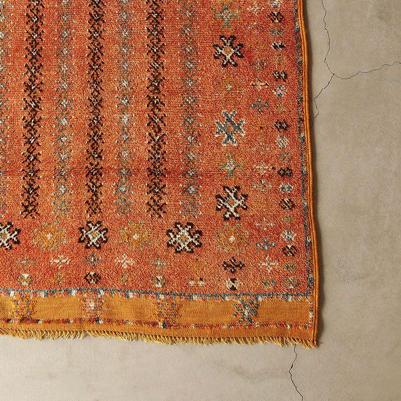 ヴィンテージラグ ベルベル / モロッコ / 1980年代 / 100cm x 188cm / OR47-3012008 角