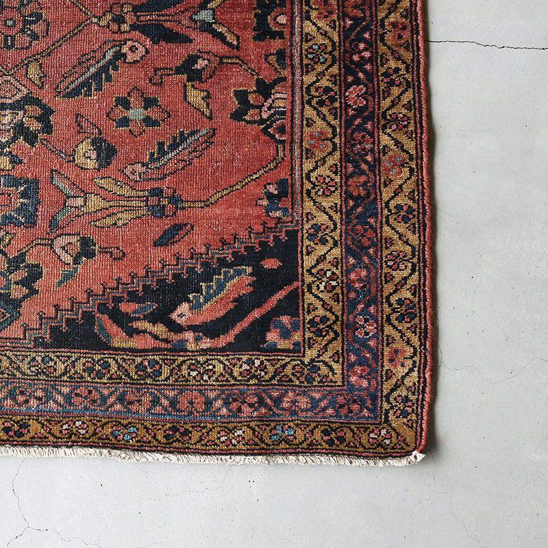 ヴィンテージラグ ハマダン / イラン / 1960年代 / 105 x 143cm / OR48-3012009 角
