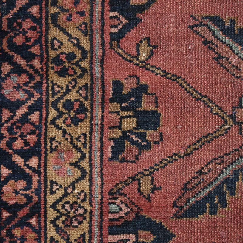 ヴィンテージラグ ハマダン / イラン / 1960年代 / 105 x 143cm / OR48-3012009 アップ