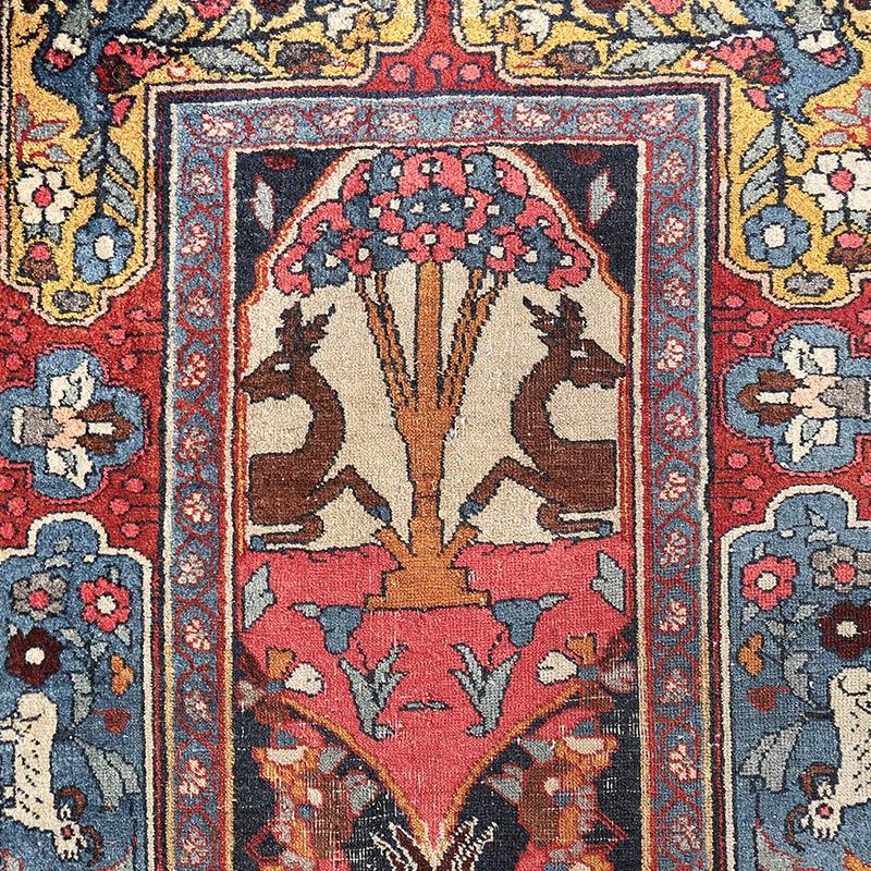 ヴィンテージラグ ビジャール / イラン / 1970年代 / 72cm x 117cm / OR49-3012010 デザイン