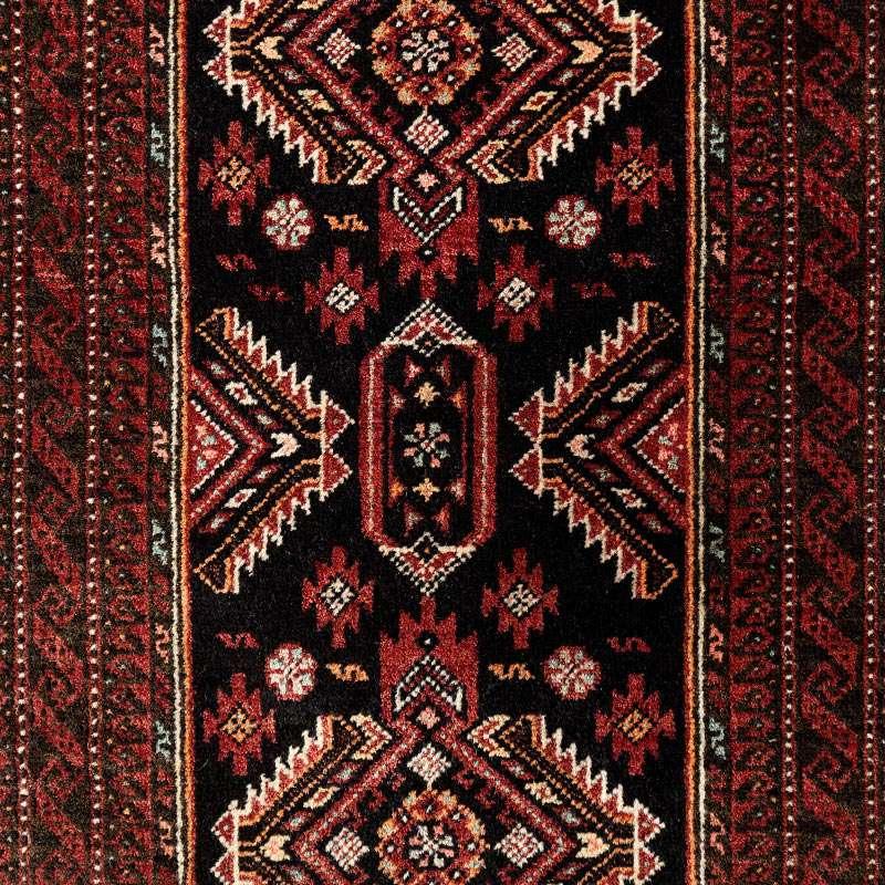 ヴィンテージラグ バルーチ / イラン / 1980年代 / 51cm x 98cm / OR52-3012013 デザイン