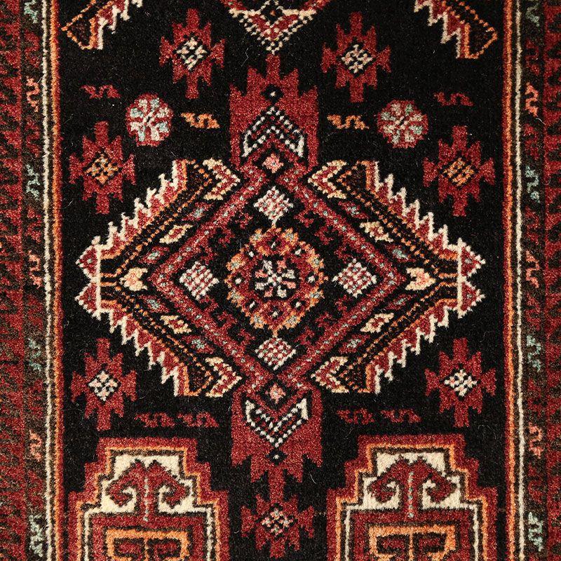 ヴィンテージラグ バルーチ / イラン / 1980年代 / 51cm x 98cm / OR52-3012013 アップ