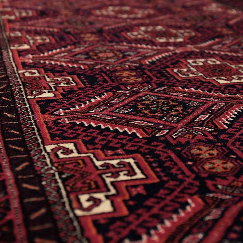 ヴィンテージラグ バルーチ / イラン / 1980年代 / 82cm x 153cm / OR54-3012015  表面の様子