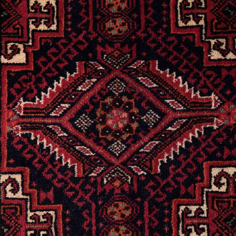 ヴィンテージラグ バルーチ / イラン / 1980年代 / 82cm x 153cm / OR54-3012015 アップ