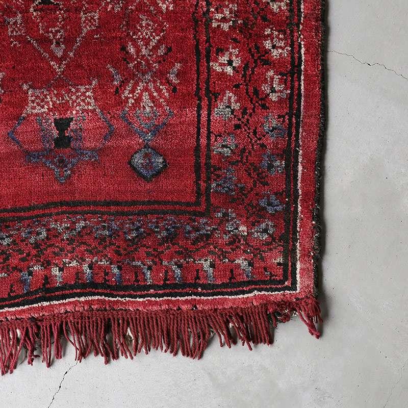 ヴィンテージラグ バルーチ / アフガニスタン / 1970年代 / 81cm x 114cm / OR9-2012009 角