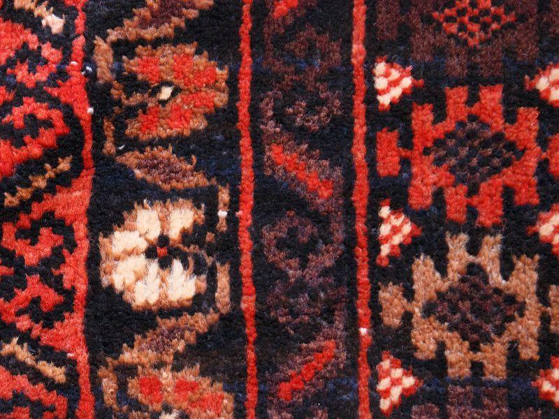 ヴィンテージラグ 1980年代 アフガンバルーチ族 ORh-2009008 アップ