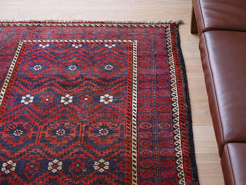 ヴィンテージラグ バルーチ / イラン /  1980年代 / 101cm x 190cm / ORj-2009010 イメージ