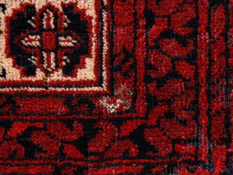 ヴィンテージラグ / トルクメン / 不明 / 1970年代 / 101cm x 181cm / ORk-2009011 アップ