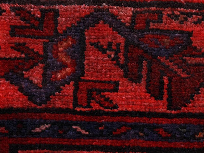 ヴィンテージラグ 1980年代 ペルシャンバルーチ族 ORm-2009013 アップ
