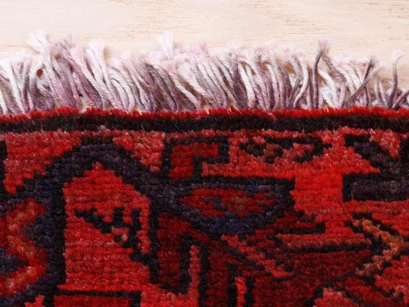 ヴィンテージラグ 1980年代 ペルシャンバルーチ族 ORm-2009013 フリンジに着色