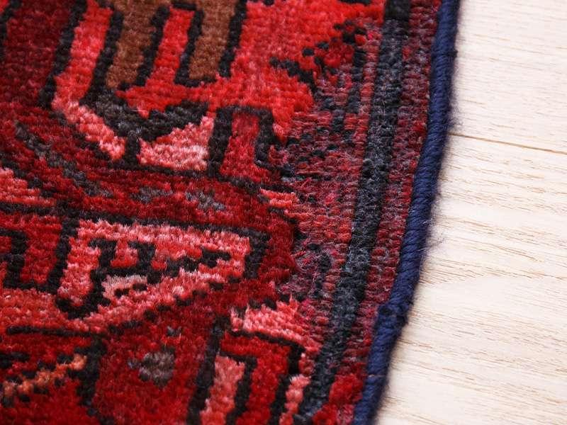 ヴィンテージラグ 1980年代 ペルシャンバルーチ族 ORm-2009013 毛足が短くなっている