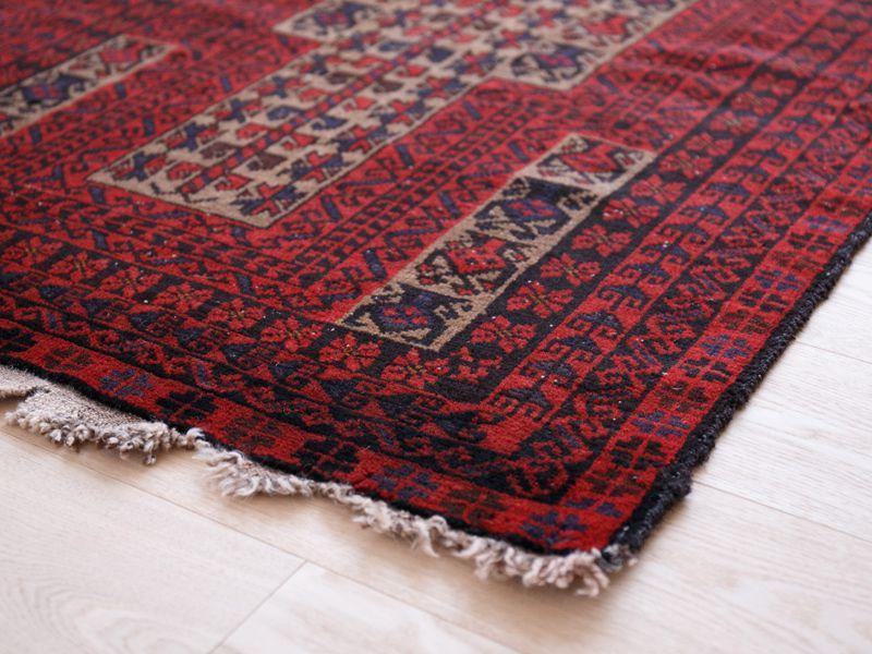 ヴィンテージラグ 1980年代 アフガンバルーチ族 ORn-2009014 イメージ