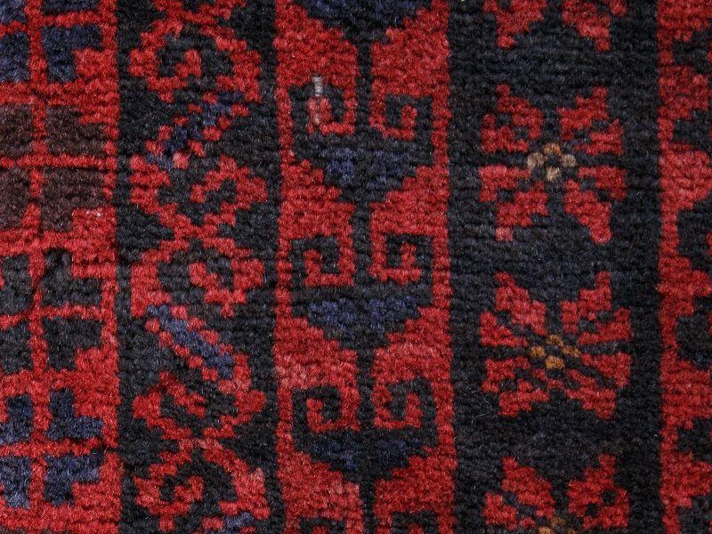 ヴィンテージラグ 1980年代 アフガンバルーチ族 ORn-2009014 アップ